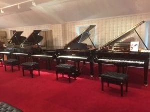 Sveriges vackraste pianoaffär