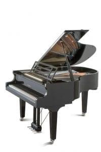 Transporterar piano och flygel