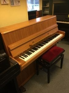 Tyskt piano från zimmerman